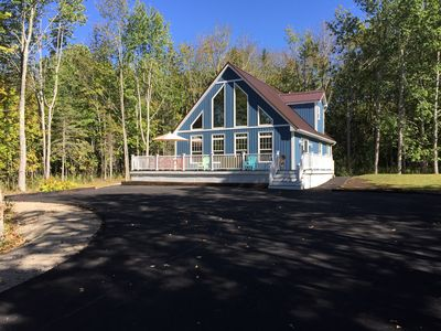 Photo for Newly Constructed fall 2016 Beautiful Bar Harbor Chalet sleeps 8
