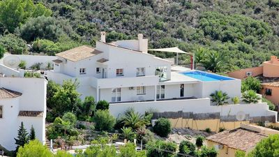 Photo for Large Luxury Villa with Stunning Sea Views Close to El Portet Beach Moraira