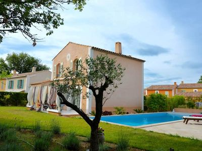 Photo for Charming villa with pool on the Azure Coast