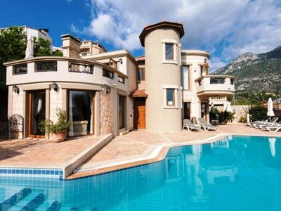 Photo for Kalkan Luxury Villa Guzel  with wonderful views over Kalkan Bay