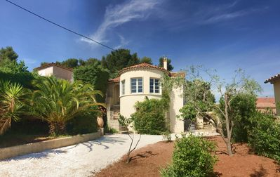 Photo for Nice and spacious villa, 800m from the beaches, with garden, parking, wifi