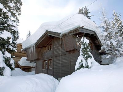 Photo for Chalet Argia: Cocoon inside for this confortable ski-in ski-out chalet