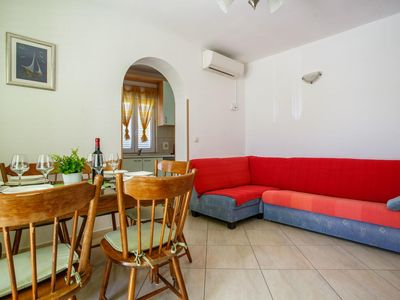 Photo for Two bedroom apartment with balcony and sea view Nemira, Omiš (A-15727-e)