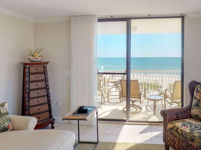 Photo for Simply Stunning! Upgraded Beachfront Condo Close to Shops, Restaurants & Activities.