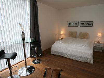 Photo for Luxury Two-Bedroom Family Apartment in Laugavegur Reykjavik 2nd floor