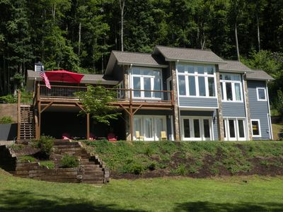 Photo for Amazing Custom Built House Right On The Hiawassee River