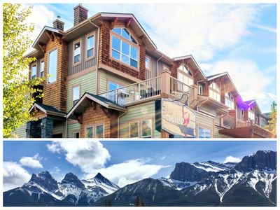 Photo for Wonderful Canmore Mountain Retreat; 3BDR, incredible views, walk to downtown
