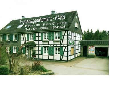 Photo for HOLIDAY APARTMENT HAAN HOUSE-IN HOUSE CHARACTER