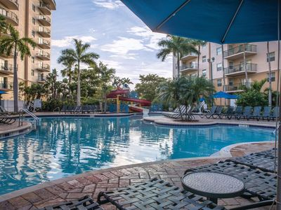 Photo for Wyndham Palm-Aire,  Areca 2 bedroom deluxe, sleeps 8 USD $1,650 wk