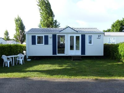 Photo for Camping La Roche Percee **** - Mobile Home 3 Rooms 5 Persons