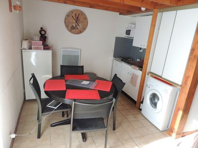 Photo for COMFORTABLE CHALET TT TEAM WITH GARDEN 43M2 80M2. Up to 2x 6 people