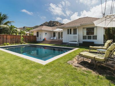Kula Lanikai - Charming updated House with Private Pool and A/C!