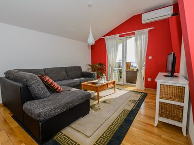 Photo for Beautiful apt with big terarce, garden and parking