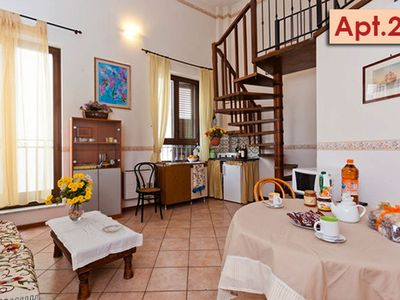 Photo for Elegant Apartment with Loft in Palermo Centre, Fully Equipped (apt. n. 24)