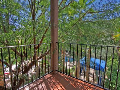 Photo for Lovely Villa Upstairs with Views of the Main Resort Style Pool LQ138