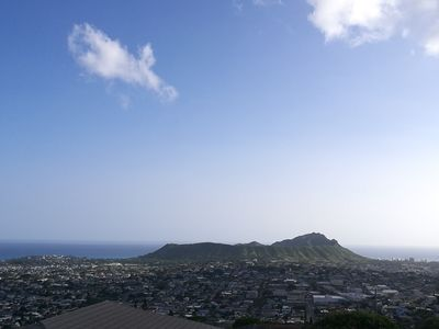 Photo for diamond head  view house2400sqft,i make sure it is best view .