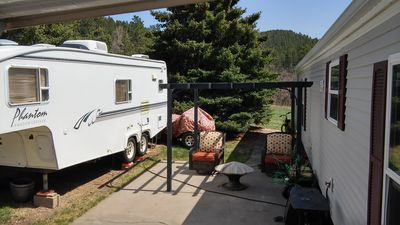 Photo for 26' Fifth Wheel in Park Like Setting for Sturgis Rally Week