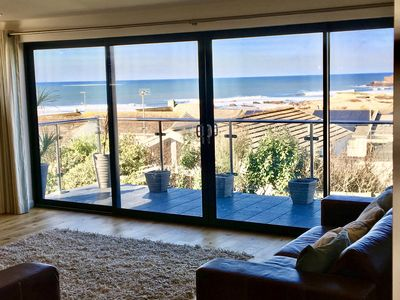 Photo for BAYWATCH MODERN DETACHED SEA VIEW HOUSE 1 MINUTE WALK TO WIDEMOUTH BAY BEACH
