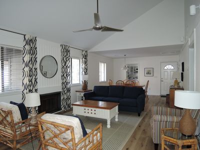 Photo for NEW on VRBO, Perfect Beach Location, Freshly Renovated, 3 bedroom 2 bath cottage
