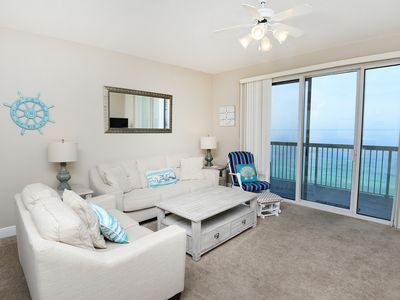 Photo for Amazing 18th Floor Condo! Gulf Front, Pool Onsite, Beach Access, Nearby Shopping & Dining!
