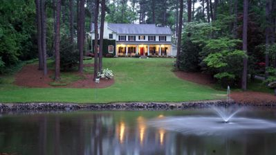 Photo for GATED 5 BR HOUSE ON 3 ACRES 2.5 MILES FROM MASTERS GOLF TOURNAMENT