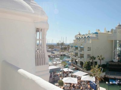 Photo for Sun Terrace and WIFI Puerto Marina Apartment