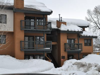 Photo for Best location in Steamboat! Quiet complex on bus line. Great for families.
