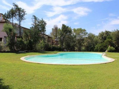 Photo for Sardinia, Porto Rotondo: Nice apartment in a green park with swimming pool