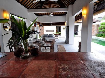 Photo for Exotic Two BR Villa in Central Seminyak
