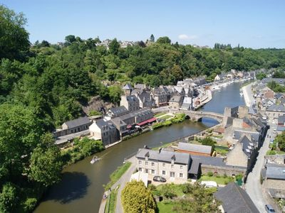 Photo for Exceptional view of the port and ramparts of Dinan