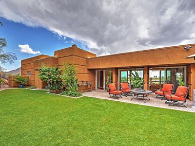 Sleek Paradise Valley Home w/ Private Acre + Views