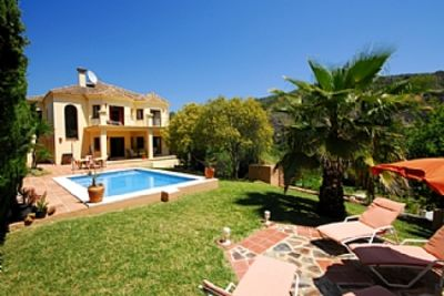 Photo for Outstanding Private Villa within Lovely Village, Heated Pool, Air-Con,