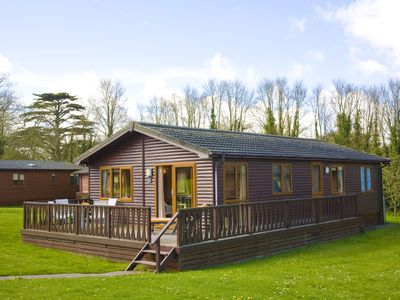 Photo for Stunning 3 Bed Lodge, Nr Rock, Cornwall, England