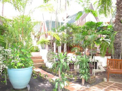 Photo for Resort The Three Elephants,  one-bedroom bungalow with living , terrace, jacuzzi