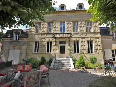 Photo for Manoir d'Eymet - Seven Bedroom House, Sleeps 14
