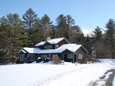 Photo for Beautifully Maintained Custom Built Home on 7 acres - 3 mi from Stratton Access