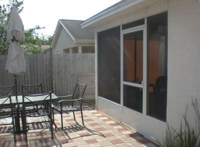 Patio and Screened Porch!