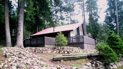 Photo for Mountain View * Borders National Forest * Sleeps 9 * H.T. * WIFI