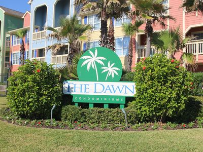 Photo for Ocean and Pool View, Beautifully furnished large, 2nd floor, 1 bedroom condo.