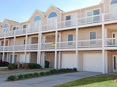 Photo for Kure View 217: 4 BR / 3.5 BA townhome in Kure Beach, Sleeps 10