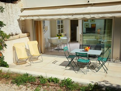 Photo for Apartment 1.4 km from the center of Cannes with Lift, Parking, Internet, Washing machine (109031)