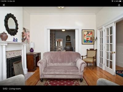 Photo for Hayes Valley/Lower Haight Vict Flat 2brms,3bth.