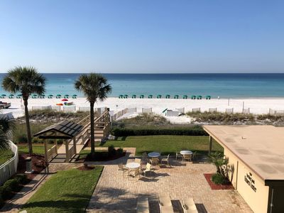 Photo for Large 2B/2B-On the Beach - NEWLY RENOVATED; Great Views, Large 2 bedroom