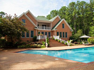 Photo for PRIVATE LUXURY HOME IN AUGUSTA, GA W/SWIMMING POOL