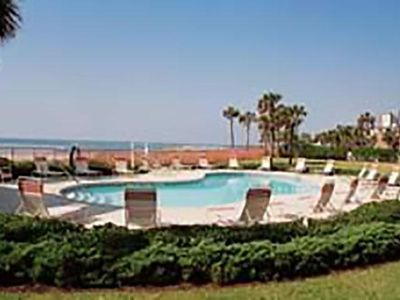 Photo for 2 BR / 2 BA beach front condo, Sleeps 8, 2 onsite pools, family friendly