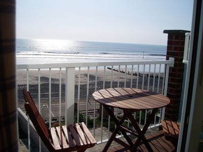 Photo for Beach house with spectacular sea views, direct access to beach, glorious sunsets