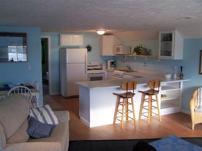 Photo for Traverse City, Silver Lake, Private Sandy Beach Front Guest Apartment