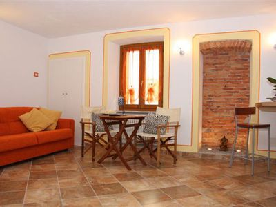Photo for With attention to detail furnished 1-bedroom apartment in the heart of the old town of Intra