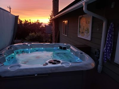 Photo for Best views in Seattle. Enjoy the Olympic Mountain and Puget Sound sunsets