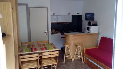 Photo for STUDIO CABIN 4 people, close to the village center and the cable car